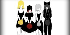 Rooster Teeth: RWBY RWBY Soundtrack: Time To Say Goodbye (Acoustic) Every day we keep moving forward but once a year we look back and remember. Red Like Roses, Rwby Ships, Achievement Hunter, Team Rwby, Rooster Teeth, Manga, Animation Series, Anime Shows, Anime Style