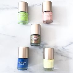 Summer fever! These bright polishes are just what we need to complete our Summer wardrobe  We are open today from 10am-6pm! Drop by & say hi!  #shopkitsu #lockestreetshops #hamont #nailpolish #moyounails #moyoulondon #moyoucanada