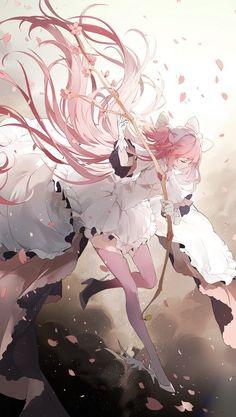 mahou shoujo madoka magica Part 36 - - Anime Image Anime Kawaii, Anime Chibi, Manga Anime, Art Manga, Read Anime, Beautiful Anime Girl, Anime Girl Cute, Anime Art Girl, Anime Girls