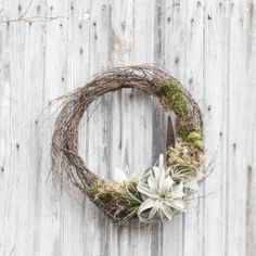 It only takes a few easy steps to create a modern, stylish spring wreath