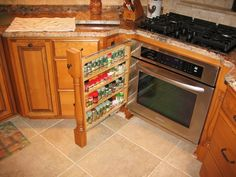 """Oh - and a bonus with the corner stove oven feature . . .. """"love it"""""""