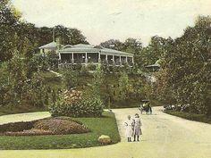 BRADLEY PARK 1910 Vintage Postcard