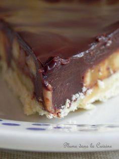Une pure gourmandise, qui se déguste très très lentement... Voici un de nos grands succès à la maison, la tarte chocolat-banane. Ce dessert est une pure go