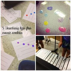 Five Teaching Tips for Music Centers: includes great suggestions for making centers work as successful as possible in your music room!
