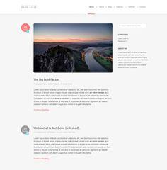 Personal blog/website by Francesco Tucceri, via Behance