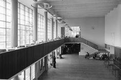 Turun rautatieaseman asemahalli (Välikangas, Vähäkallio 1940) #funkis #funkkis #functionalism