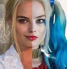 Margot Robbie as Harley Quinn!