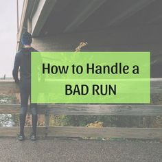 What to Do When You're Having a Bad Run