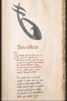 Soundless,The Mortal Instruments