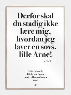 Sjov plakat fra www.citatplakat.dk