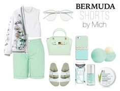 """greennie"" by michelledhrm ❤ liked on Polyvore"