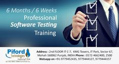 Piford is a USA based software development company and we also provide Six Weeks & 6 Months Professional Software Testing Training in Chandigarh, Mohali and Panckula with live projects.  Watsapp On : 9779452435, 9779444127 & 9779444157  Call Us : 0172-4662400, 4662500, 9779444157, 9779444127, 9779444172, 9779452435, 9779452436, 9779452863 and 9779452583  Address : PIFORD TECHNOLOGIES 2nd FLOOR IT C-7, KMG Towers, IT Park, Sector 67, Mohali-160062 Punjab, INDIA