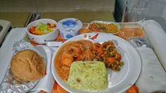 Only Veg Food For Domestic Economy Class Fliers of Air India