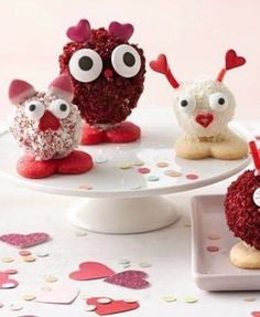 10 -V-Day Recipes There are so many ways you can celebrate Valentine's Day with your kids.