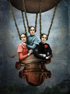'She knew she could fly' von Catrin Welz-Stein bei artflakes.com als Poster oder Kunstdruck