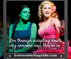 When you know for yourself, you have the confidence to make it happen. #nolimits #wicked http://BetweenMyStageLife.com