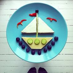 Cool boat snack.