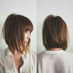 Cut and bangs
