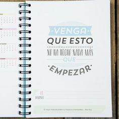 """Agenda 2013 - 2014 """"Haz que cada día merezca la pena"""". Se vende en: www.mrwonderfulshop.es #agenda #diary #organizador"""