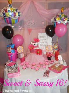 First Glimpse at our Sweet 16 from @Kim Crouch Sminkey