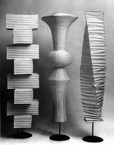 Akari floor lamps, 1951 #GISSLER #interiordesign