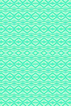 Beachside Batik -- iPhone Wallpaper