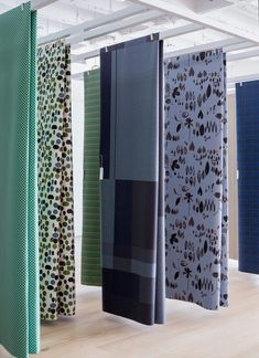 Design fabric with metro pattern repeat Blocks & Grids by Scholten & Baijings