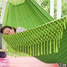 Nirvana Hammock - Jade - Medium