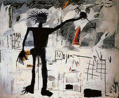 Self-Portrait, 1982, Jean-Michel Basquiat  Size: 239x193 cm Medium: acrylic, crayon