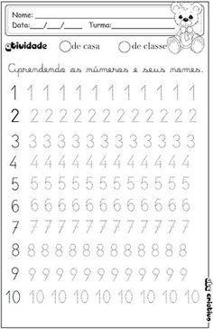 Printable Preschool Worksheets, Kindergarten Math Worksheets, Alphabet Worksheets, Worksheets For Kids, Alphabet Writing, Tracing Worksheets, Shapes Worksheets, Preschool Writing, Numbers Preschool