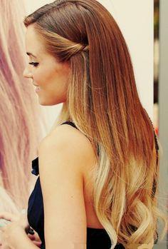 Ombré Hair- so pretty - love the side