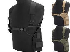 Matrix Tactical Modular Dual Pistol Shoulder Holster (Color: Black) | Evike.com