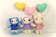 Amigurumi Balloon Animals - FREE Crochet Pattern / Tutorial