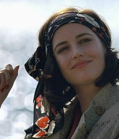 Now this is how you wear a headscarf...sorry Johnny Depp Eva Green in 'Cracks'