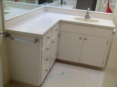 FREE:L Shaped Bathroom Vanity