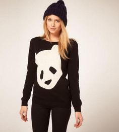 panda sweater.$30.99 from MayKool.com (go back and visit the site for more great clothes and good prices).