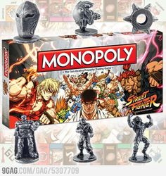 Monopoly: Street Fighter Edition