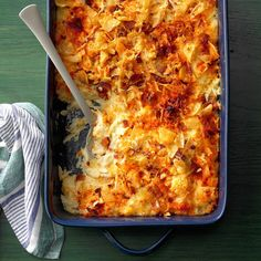 Need potato side dishes? Get great potato side dishes for your next meal or gathering. Taste of Home has lots of delicious potato side dishes including sweet potato side dishes, easy potato side dish recipes, and more recipes for potato side dishes. Hash Brown Casserole, Potato Casserole, Casserole Recipes, Brunch Casserole, Potato Rice, Pasta Casserole, Potato Recipes, Vegetable Recipes, Potato Side Dishes