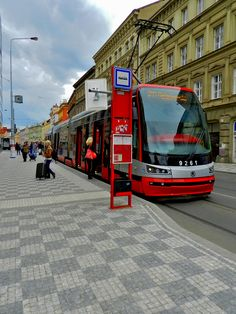 By Luis Jacome. Prague Czech Republic, Light Rail, Beautiful Places In The World, Eastern Europe, Study Abroad, Amazing Destinations, Continents, Places To See, Trains