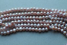 Freshwater pearls - by Lola on Craftumi