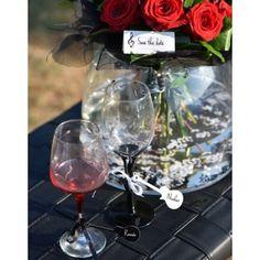 Etiquette guitare noire carton avec ruban les 12 Deco Table, Table Decorations, Rose, Dimensions, Instruments, Products, White Ribbon, Disposable Tableware, Pink
