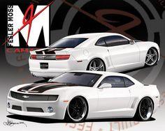 2010 custom camaro | Fesler-Moss Custom 2010 Chevrolet Camaro | Muscle Car Parts