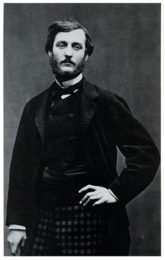 Frédéric Bazille, a French Impressionist painter. And professional checkered trouser wearer.