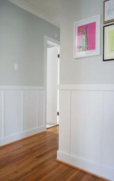 Moonshine by Benjamin Moore--light, soothing gray that looks great with white trim and colorful accents. by world of  D
