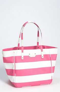 Kate Spade Tote.  Perfect for Summer! Take the Pinterest survey >>> http://bit.ly/GZdCEe