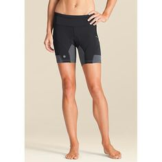 Athleta triathlon bike shorts. I love these, they do not ride up when running and the bike pad is not a diaper