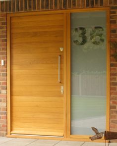 Page not found - Urban Front - Contemporary Front Doors UK Porch Doors, House Doors, House Windows, Windows And Doors, Contemporary Front Doors, Bungalow Exterior, 1950s House, House Front, Front Porch