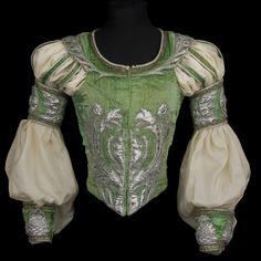 Costume for Rudolf Nureyev in the role of Romeo, Act II, Romeo and Juliet, Opéra national de Paris. Love this very feminine vest. Would be perfect for SCA fighting Theatre Costumes, Ballet Costumes, Dance Costumes, Baby Costumes, Historical Costume, Historical Clothing, Romeo And Juliet Costumes, Romeo Costume, Landsknecht