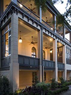 Wonderful deep verandas.