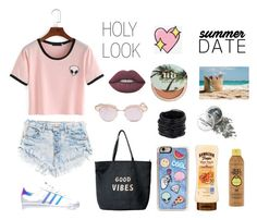 """""""Look's 2016"""" by beatifullife19 on Polyvore featuring мода, adidas, Venus, Le Specs, Zero Gravity, Saachi, Forever 21, Urban Decay, Lime Crime и Big Bud Press"""